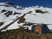 Notre camp vers 2000m