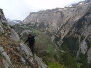En montant le long de Mt. à Caca