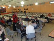 La salle du rassemblement du CAF 2010 à Charquemont