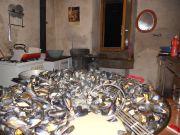 Les Grands-Champs: Vue des cuisines
