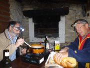 La traditionnelle fondue du mardi soir