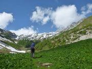 Accès au Val Dorbon