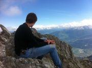 Julien au sommet