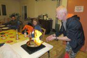 Filet mignon flambé au Cogniac