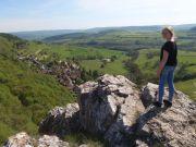 Le panorama au-dessus de Baulme la Roche