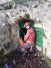 Chatelat: Valérie prend le soleil avant la descente